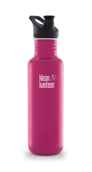 Klean Kanteen Classic Trinkflasche mit Sport Cap 800ml dragon fruit